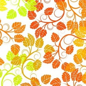 Floral Colorful Abstract Bacground - vector gratuit #217149