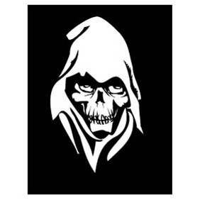 Death Face Vector 2 - vector gratuit #217309