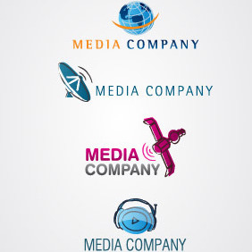 Media Services Logo Pack - vector gratuit #217359