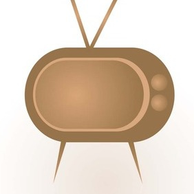 Abstract TV - Free vector #217429