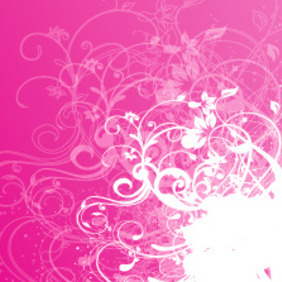 Red Pink Free Vector Design - vector gratuit #217749