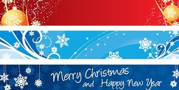Christmas Banners - Kostenloses vector #217869