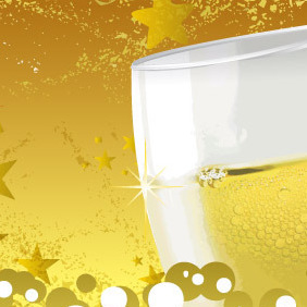 Champagne Toast - Kostenloses vector #218039