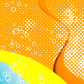 Glussier Orange Background - Kostenloses vector #218209