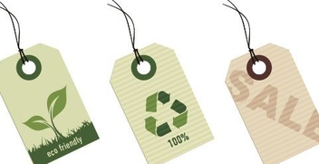 Eco tags - vector #218479 gratis