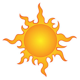 Sun Vector Clip Art 2 - Free vector #219089