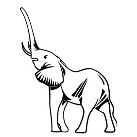 Elephant Vector Clip Art - Free vector #219259