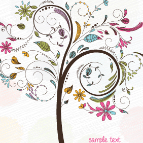 Free Tree Vector Illustration - Free vector #219619