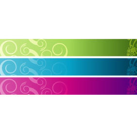 Vector Banners Set 6 - Free vector #219959
