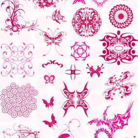 Tribal Graphics - Free vector #220029