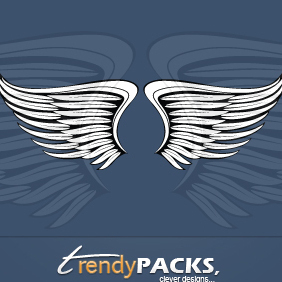 Free Vector Wings - vector gratuit #220459
