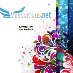 Abstract Colorful Background Vector - vector #220469 gratis