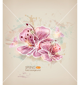Free floral vector - Free vector #220599