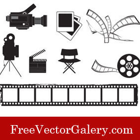 Cinema Vectors - vector gratuit #220759