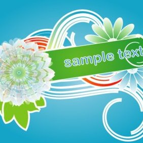 Colorful Banner Vector - vector #220779 gratis