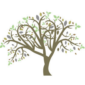 Colorful Vector Tree - vector #220819 gratis