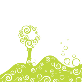 Vector Stylized Tree - Kostenloses vector #220869