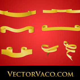 Banners And Ribbons - vector #220909 gratis