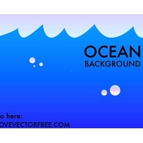 Ocean Background - vector #220999 gratis