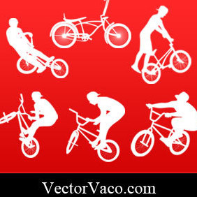 Freestyle Biker - vector gratuit #221109