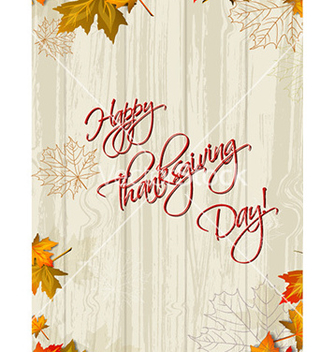 Free happy thanksgiving day vector - Free vector #221149