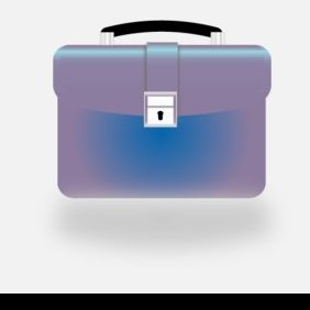 Briefcase Vector Icon - Kostenloses vector #221189