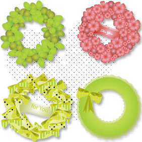 Wreath - vector #221579 gratis