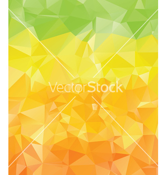 Free green yellow orange polygons2 vector - Free vector #221609