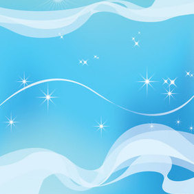 Sky Dream Background - vector #221619 gratis