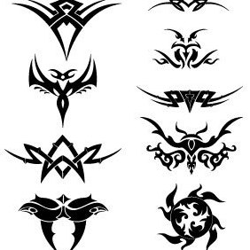 Tribal Vectors - Free vector #221699