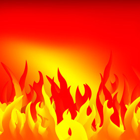 Abstract Fire - vector gratuit #221859
