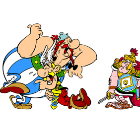 Asterix Obelix And Friends - Kostenloses vector #222049