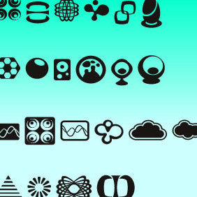 Logo Objects - vector gratuit #222179