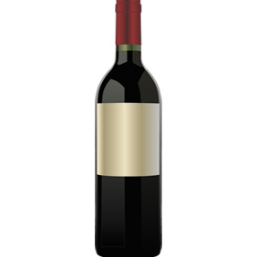 Wine Bottle - vector gratuit #222239