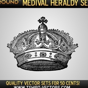 Heraldry Sample Set - vector #222289 gratis