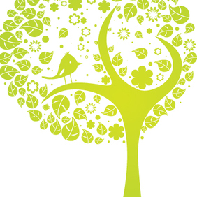 Abstract Tree - vector #222339 gratis
