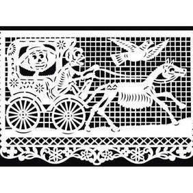 Papel Picado - Mexican Paper Cut - бесплатный vector #222369