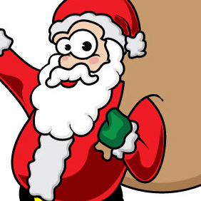 Father Christmas - vector gratuit #222889