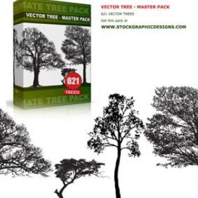 Vector Tree Master Pack - vector gratuit #223069