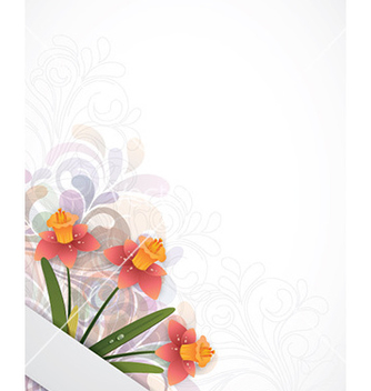 Free floral background vector - Free vector #223099