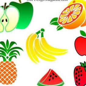 Fruits - vector gratuit #223129