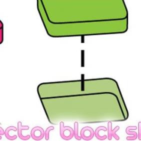 Vector Block Shapes - vector gratuit #223229