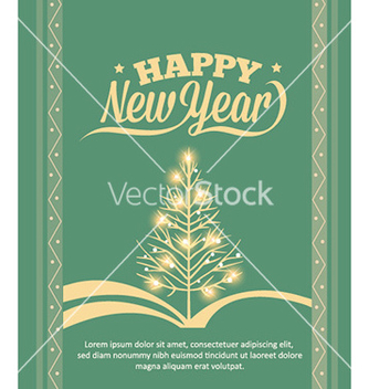Free happy new year vector - vector #223739 gratis