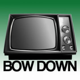 Bow Down TV Vector - Free vector #223819