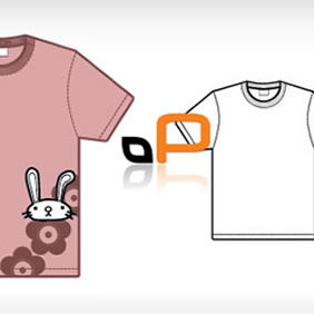 T Shirt Template - Free vector #223829