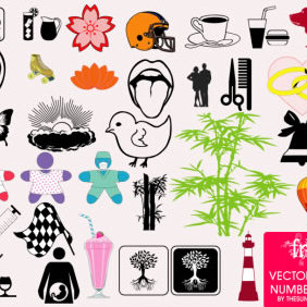 Random Vector Stock Pack Number One - vector gratuit #223859