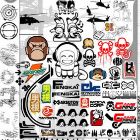 Monkey S Big Ass Vector Pack 2 - Kostenloses vector #223889