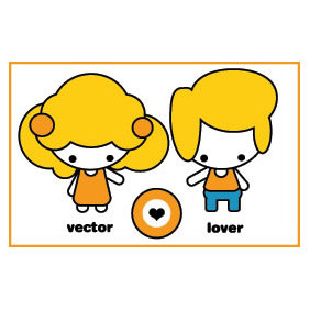 Lovers - vector gratuit #224079