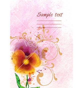 Free grunge floral background vector - vector gratuit #224139
