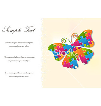 Free abstract butterfly vector - Kostenloses vector #224249